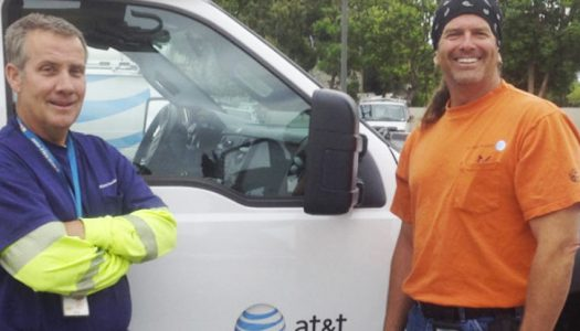 Leading By Example: AT&T Technicians Jump Into Action at Site of Car Accidents