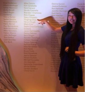 tingting points to her name among achievements