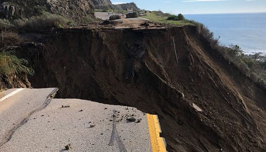 AT&T Technicians Get Creative After Landslide takes Cable